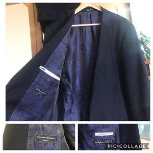 554f3ce4 Italian Super 150's Wool Suit Giovanni Bresciani